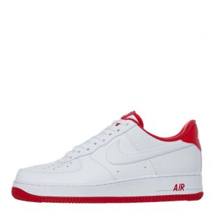 Nike Air Force 1 '07 Trainers | CD0884 101 White / Red