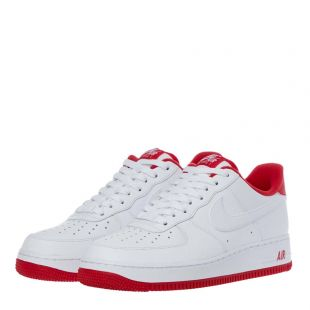 Air Force 1 '07 Trainers - White / Red