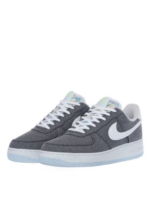 Air Force 1 Recycled Canvas Trainers - Grey