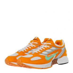 Air Ghost Racer Trainers – Orange / Green
