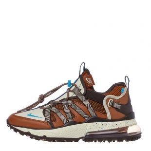Nike Air Max 270 Bowfin Trainers | AJ7200 202 Rust / Blue