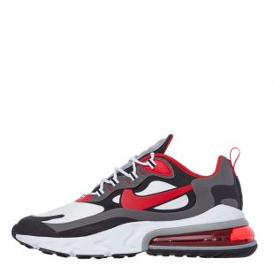 Nike Air Max 270 React Trainers | C13866|002 Red/White/Black