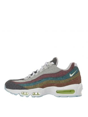 nike air max 95 recycled canvas trainers CK6478 001 grey