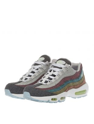 Air Max 95 Recycled Canvas Trainers - Grey