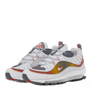 Air Max 98 Trainers - Grey / White / Gold