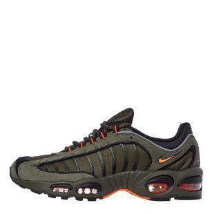 Nike Air Max Tailwind IV Trainers | CJ9681 300 Green / Orange