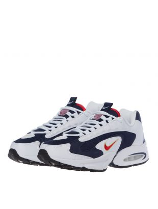 Air Max Triax USA Trainers - Navy / White / Red