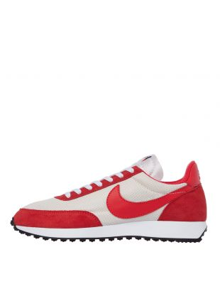 nike air tailwind 79 trainers 487754 101 track red / cream