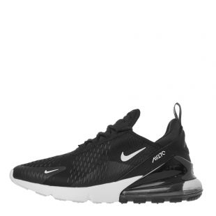 Nike Air Max 270 Trainers   AH8050 002 Black / Anthracite White