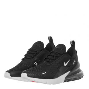 Air Max 270 Trainers – Black / Anthracite White