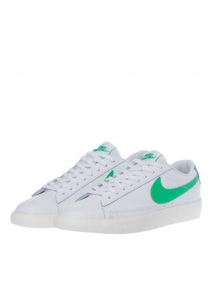 Blazer Low - White / Green
