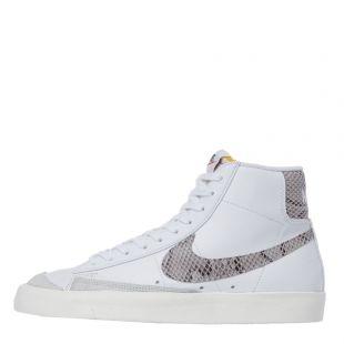 Nike Blazer Mid 77 Trainers CI1176 101 White / Grey
