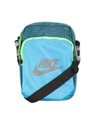 Nike Heritage 2.0 Small Items Bag | CV1408 446 Blue / Teal Green / Black