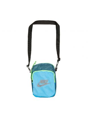 Heritage 2.0 Small Items Bag - Blue / Teal Green / Black
