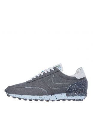nike daybreak type recycled canvas trainers CZ4337 001 grey