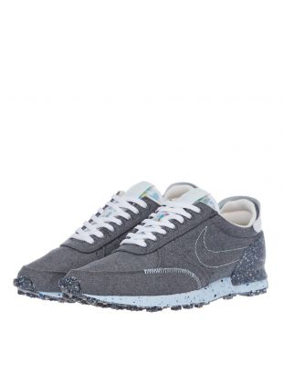Daybreak Type Recycled Canvas Trainers - Grey