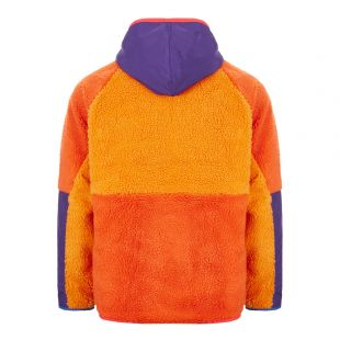 Hoodie Sherpa Fleece – Orange