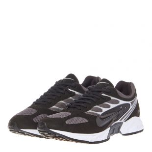 Air Ghost Racer Trainers - Black / Silver