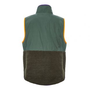 Fleece Gilet – Green