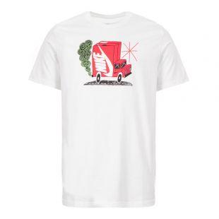 Nike T-Shirt Logo | CI6312 100 White