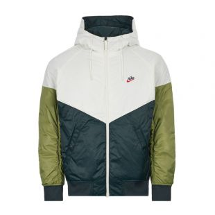 Hooded Jacket – Green