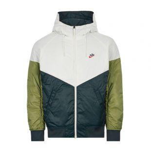 Hooded Jacket – Green