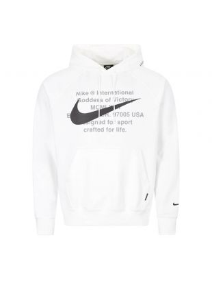 Nike Swoosh Hoodie | CJ4863 100 White