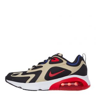 Air Max 200 - Gold / Black / Blue / Red