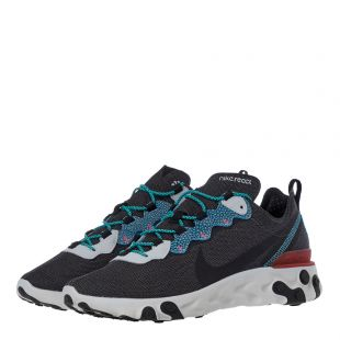 React Element 55 SE Trainers - Grey / Blue
