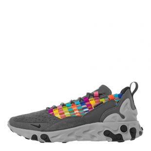 nike react sertu trainers AT5301 004 grey