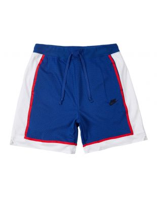 Nike Shorts Mesh | AR2418 438 Royal Blue / White