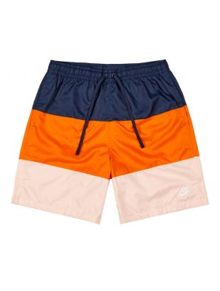Nike Shorts | CJ4486 410 Navy / Orange