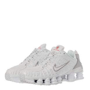 Shox TL Trainers - White