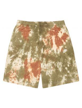 Nike Sweat Shorts | CZ7854 222 Olive / White