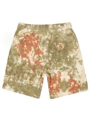 Sweat shorts - Olive / White