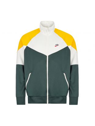 Nike Track Jacket | White / Green / Yellow BV2625 | Aphrodite