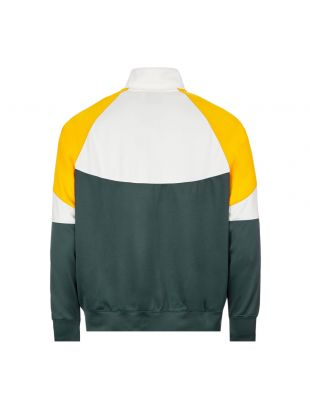 Track Jacket - White / Green / Yellow