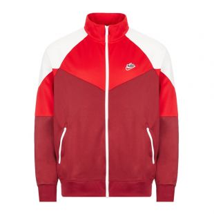 Nike Track Top | BV2625 677 Red / Burgundy / White