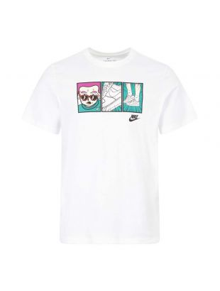 Nike T-Shirt | CT6527 100 White / Illustration