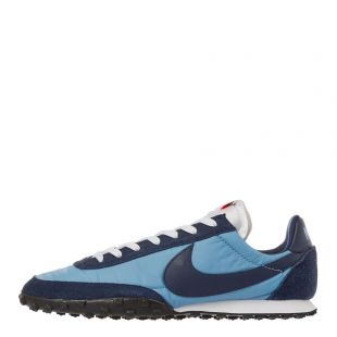 nike waffle racer trainers CN8115 400 navy