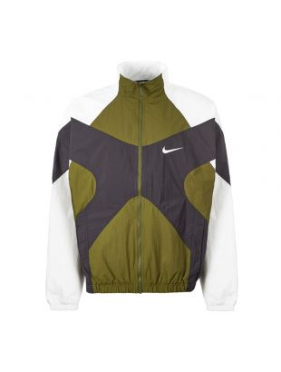 Nike Sports Jacket | BV5210 331 Green / White / Black