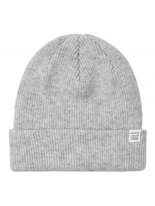 Norse Projects Beanie   N95 0569 1026 Grey