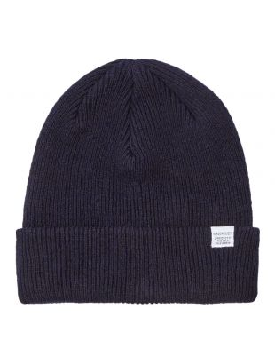 Norse Projects Beanie | N95 0569 7004 Navy