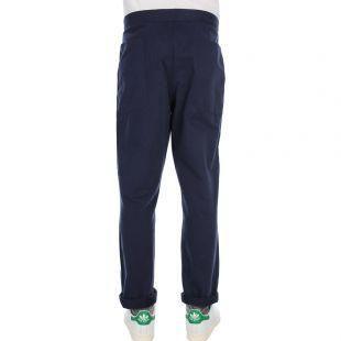 Laurtis Brushed Cargo Pants - Navy