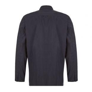 Jens Zip Dry Overshirt - Navy