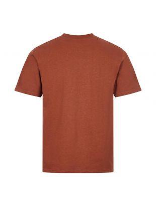 T-Shirt Johannes Pocket - Madder Brown