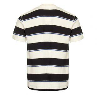 T-Shirt Johannes - Ecru / Navy