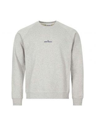 norse projects sweatshirt wave logo N20 1248 1026 grey