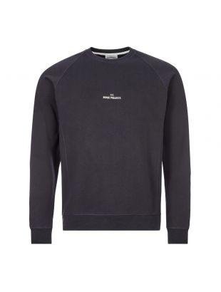 norse projects sweatshirt wave logo N20 1248 7004 navy