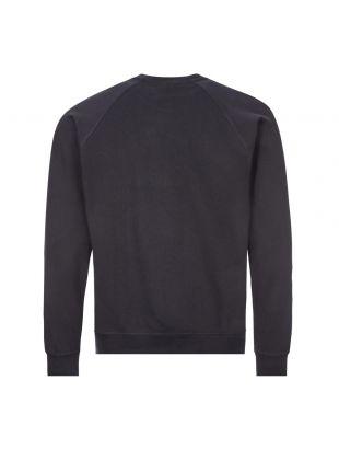 Sweatshirt Wave Logo - Navy